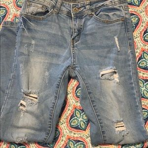 Wax Jeans/Los Angeles. Distressed, size 3